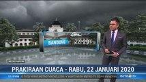 Prakiraan Cuaca Sore Hingga Malam, 22 Januari 2020