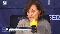 """Calvo quiere que el Congreso se llame solo Congreso, """"si no, ¿qué hacemos allí las diputadas?"""""""
