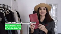 My Climate #SolutionResolution: Monika's fashion influencing mission
