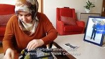 Harbiyeli annesi Melek Çetinkaya Ankara TEM'de gözaltında