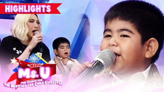 Yorme gives his message to children bringing toys in school | It's Showtime Mini Miss U