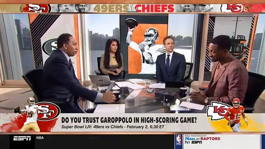 First Take Full Show. 37 Minutes Long 1/22/20