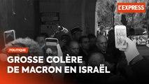 La colère de Macron contre la police israélienne