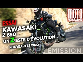 Kawasaki Z650 - un Zeste de changement (Essai Moto Magazine)