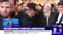 Story 1 : Emmanuel Macron devant le Mur des Lamentations - 22/01