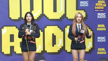 "[IDOL RADIO] Ro Yeon&Lina ""Dark Cloud""♪♬"