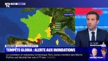 Story 2 : Tempête Gloria: l'Aude et les Pyrénées-Orientales en alerte rouge inondation - 22/01