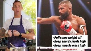 How Boxer Badou Jack's Nutritionists Prep His Meals