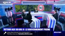 Story 3 : Retour aux 90 km/h: le gouvernement freine - 22/01