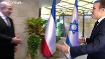 """""""L'antisionisme est un antisémitisme"""" : à Jérusalem, Emmanuel Macron dénonce """"la négation d'Israël"""""""