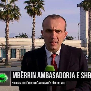 Live/ Mbërrin në Shqipëri ambasadorja amerikane Yuri Kim