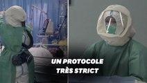 Face au coronavirus, précautions extrêmes en Chine dans les hôpitaux