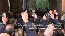 مشادة بين ماكرون وعناصر الشرطة الإسرائيليين في مدينة القدس