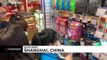 China: Wegen Coronavirus werden Atemmasken und Desinfektionsmittel knapp
