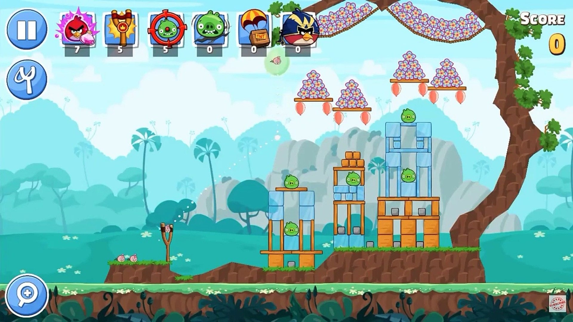 Angry Birds Friends - Gameplay Walkthrough part 1 - Angry Birds Friends - Procédure pas à pas de gam