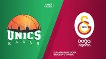 UNICS Kazan - Galatasaray Doga Sigorta Istanbul Highlights   7DAYS EuroCup, T16 Round 3