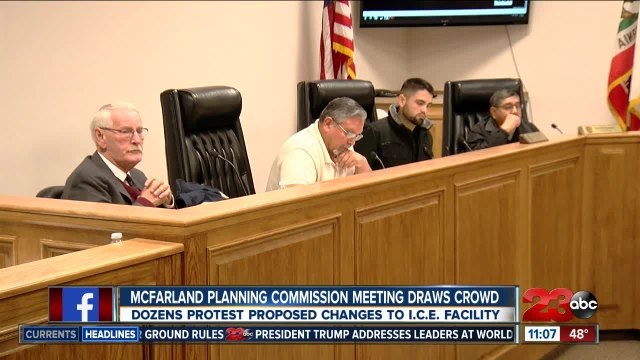 McFarland Planning Commission meeting draws crowd over possible ICE facility