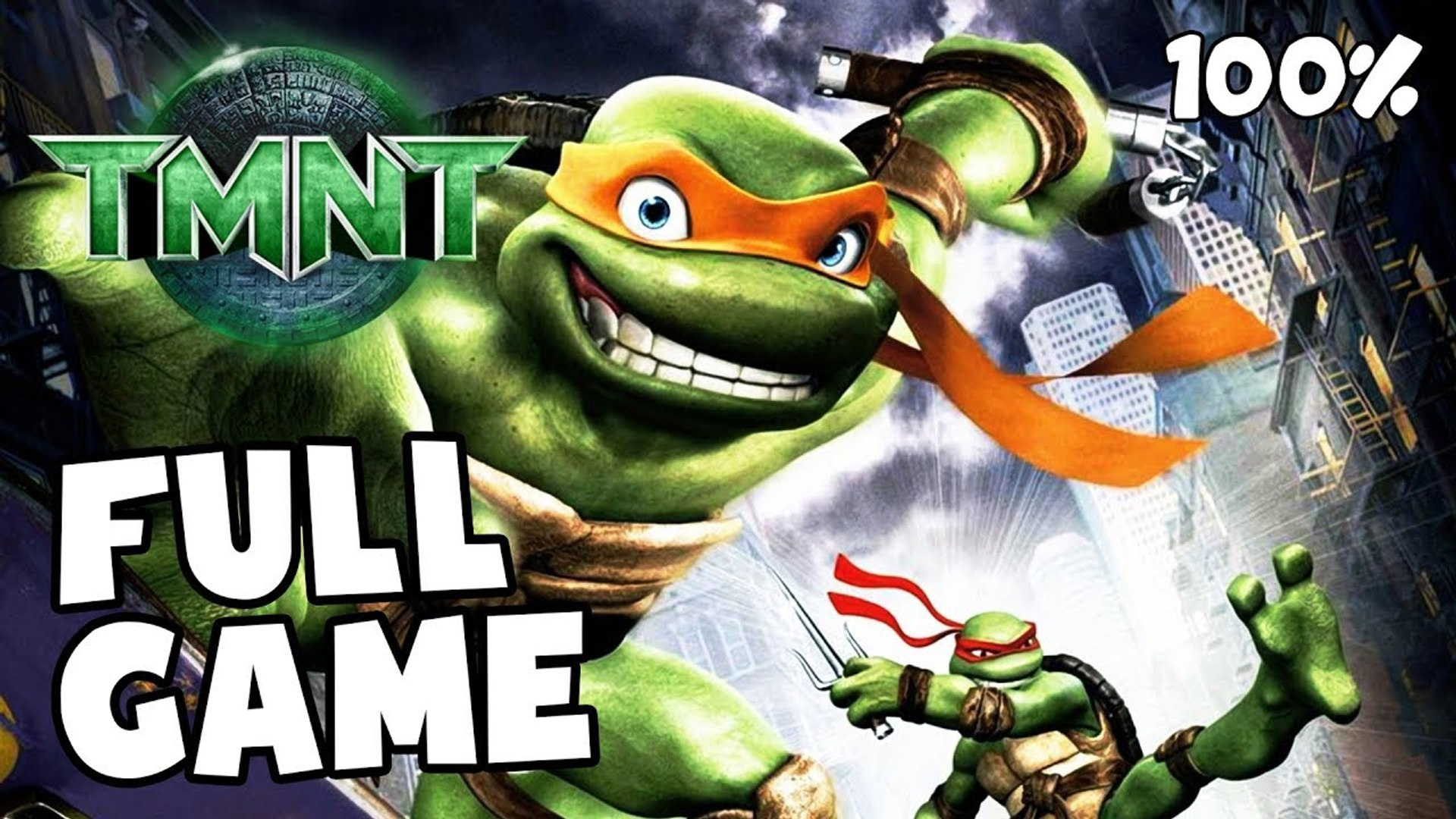 Tmnt 2007 Movie Game Full Game 100 Longplay X360 Pc Ps2 Wii