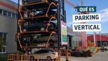 [CH] Así funciona un parking vertical: 16 coches en 2 plazas de aparcamiento