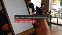 Uber Lets California Drivers Set Their Own Prices