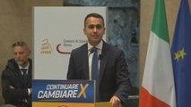 Luigi Di Maio abandona el liderazgo del Cinco Estrellas