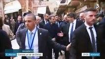 Jérusalem : Emmanuel Macron s'emporte face aux services d'ordre israéliens