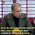 Beşiktaş umut vaad ediyor mu? Abdullah Avcı yanıtladı..