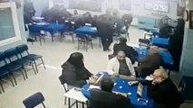 Turgutlu'da deprem anı kamerada