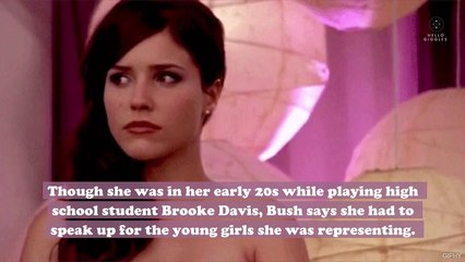 "Sophia Bush speaks out against her One Tree Hill boss for ""inappropriate"" sexualized scenes"