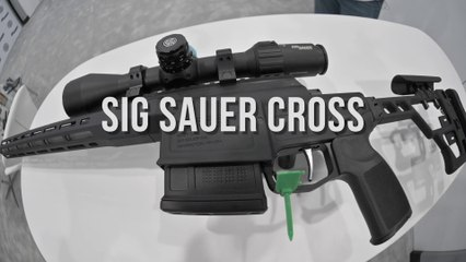 First Look: Sig Cross Rifle