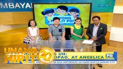 Unang Hirit: Payong Paslit Po: Reward para sa mga anak!