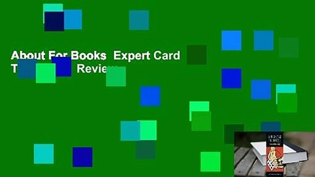 About For Books  Expert Card Technique  Review