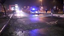 Düzce'de aydınlatma direğine çarpan otomobilin sürücüsü yaralandı