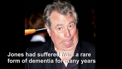 'Monty Python' star Terry Jones dies aged 77