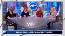 The View TRIGGERED After Bernie Sanders Takes Lead