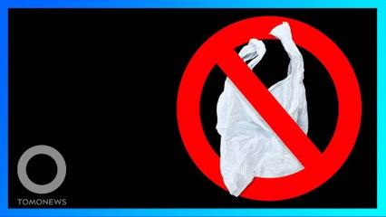 中國限塑令2020年底前實施 主要城市超市、商場禁用塑膠袋