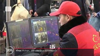 Virus en Chine - Le gouvernement met en quarantaine la métropole de Wuhan : Regardez le reportage de France 2 sur place