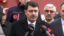 Ankara Valisi Vasip Şahin: 'Yapılan incelemede Ahmetadil köyümüzde kerpiç tipi 1-2 yapıda oluşan çatlaklar dışında herhangi bir sorun tespit edilmedi'