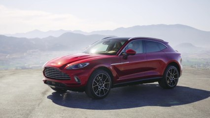 Der Aston Martin DBX - Design-Highlights