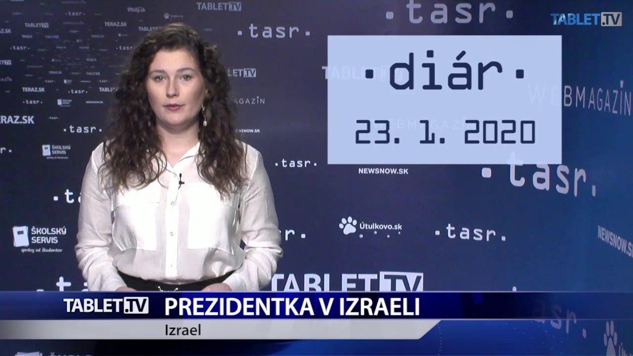 DIÁR: Prezidentka Z. Čaputová na návšteve Izraela