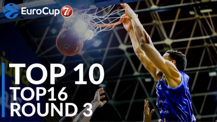 Top 16 Round 3 Top 10 Plays