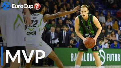 Top 16 Round 3 MVP: Klemen Prepelic, Joventut