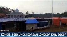 Korban Longsor di Bogor Masih Bertahan di Pengungsian