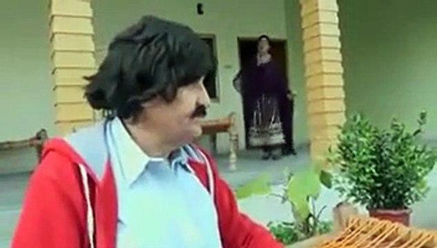 Pashto Drama Funny Scene - Ismail Shahid - Adam Neshta Bovi Shta - ادم نشتہ بوی شتہ
