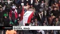 Recrudescence des manifestations en Irak, les réformes au cœur du mécontentement