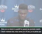 """Pelicans - Zion : """"Vraiment bien de faire mes débuts"""""""