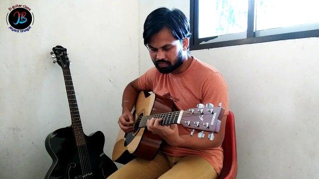 Mere Dholna Sargam On Guitar