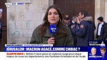 BFMTV : Une reporter annonce qu'Emmanuel Macron rencontrera Yasser Arafat, mort en 2004