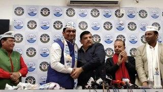 Congress' Harnam Singh joins AAP