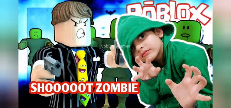 The Secret of Zombie, Roblox, Shoot Zombie